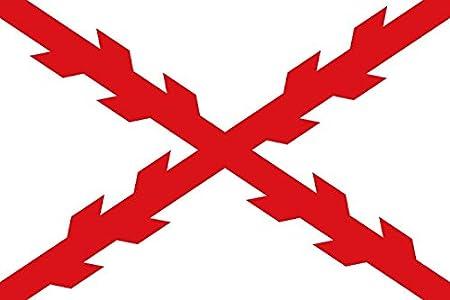 Durabol Gran Bandera de Cruz de Borgoña 150 x 90 cm: Amazon ...