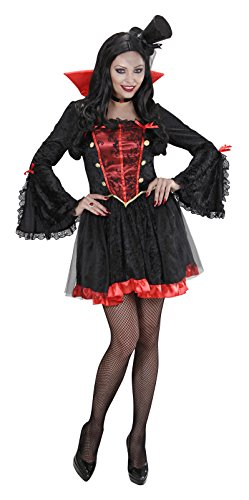 Vampiress Costume For Halloween Fancy Dress Up Outfits]()