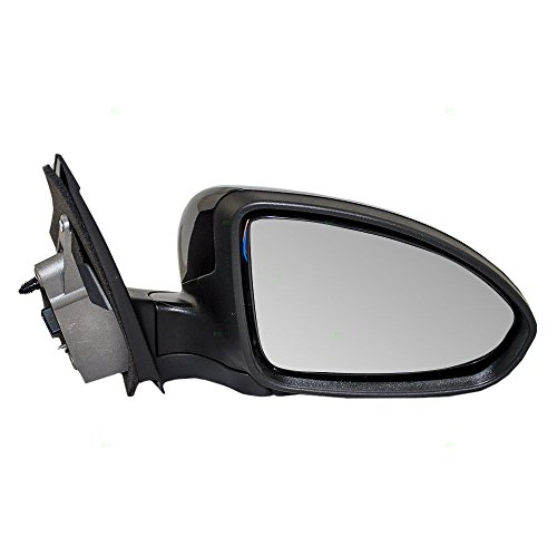 Passengers Power Side View Mirror Ready-to-Paint Replacement for Chevrolet 19258658