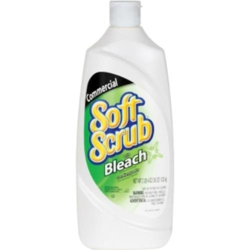 Soft Scrub 15519CT Commercial Disinfectant Cleanser w/Bleach, 36oz Bottle (Case of (Scrubs Disinfectant)