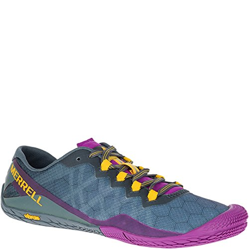 Merrell Women's Vapor Glove 3 Trail Runner, Turbulence, 8 M US by Merrell