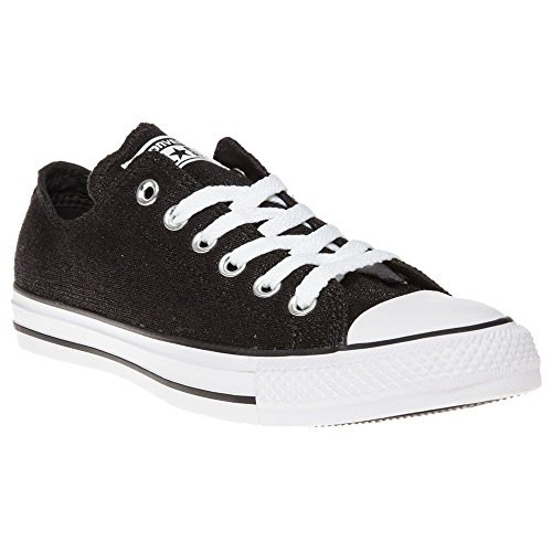 Converse All Star Sparkle Knit Ox W chaussures BLACK|METALLIC