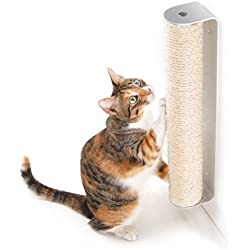 4CLAWS Wall Mounted Sisal Scratching Post