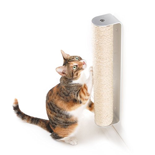 4CLAWS Wall Mounted Sisal Scratching (Vertical Scratching Post)