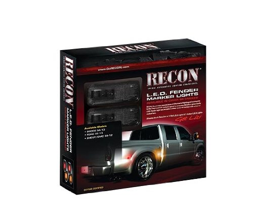 Recon Led Fender Lights