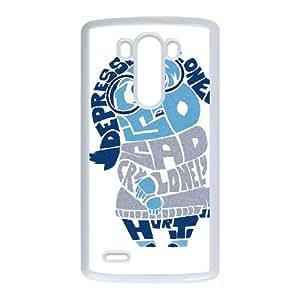 LG G3 Cell Phone Case White IM SO SAD Wriob