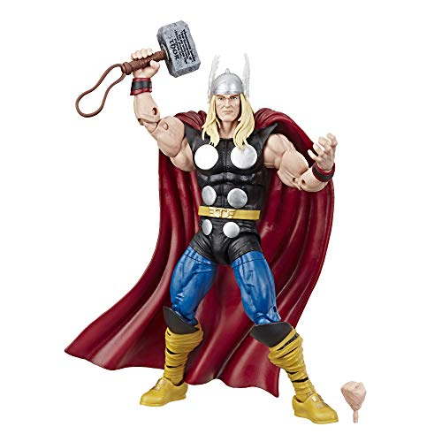 Marvel Comics 80th Anniversary Legends Series 6'-Scale Vintage Comic-Inspired Thor Collectible Action Figure