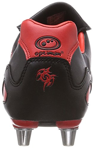 Red Razor Homme Black Rugby de Optimum Red Rouge Chaussures ZU1xwxY