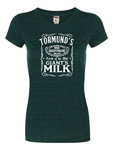XX-Large Emerald Womens Tormund's Giant's Milk Tri-Blend T-Shirt