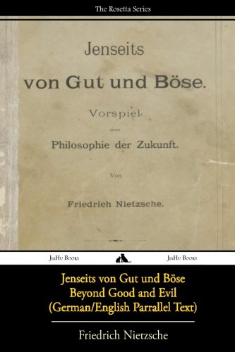 Jenseits von Gut und Böse/Beyond Good and Evil (German/English Bilingual Text) (German Edition)