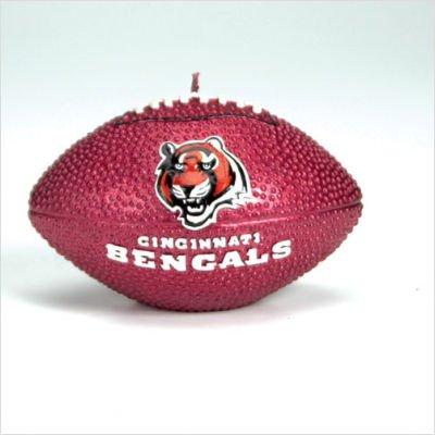 SC Sports Cincinnati Bengals Football Candle - Cincinnati Bengals One Size