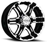 rims for 2015 chevy silverado - Gear Alloy Double Pump 18x9 Black Wheel / Rim 6x5.5 with a 10mm Offset and a 107.95 Hub Bore. Partnumber 713MB-8908410