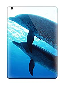Shirley P. Penley's Shop Christmas Gifts 2000583K93715127 New Dolphins Under The Sea Tpu Cover Case For Ipad Air