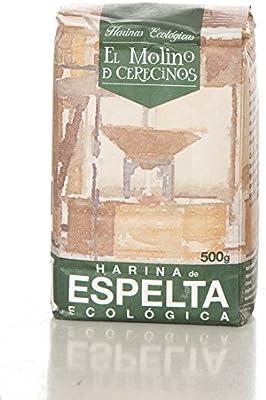 Harina de Espelta Ecológica blanca 500 gr: Amazon.es: Alimentación ...