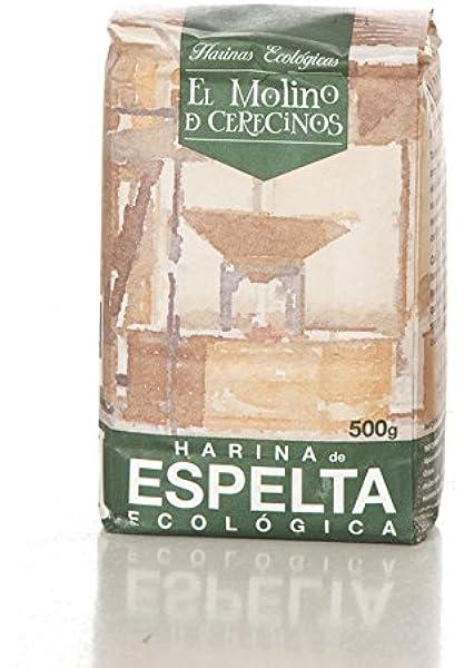Harina de Espelta Ecológica blanca 500 gr: Amazon.es ...