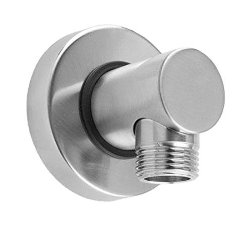 Polished Brass Jaclo 6406-PB Contemporary Hand Shower Wall-Mounted 1 2  Male x 1 2  Female Supply Elbow, Polished Brass