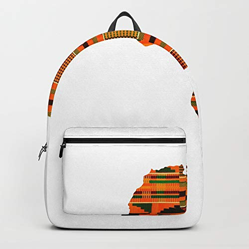 Society6 Backpack, Kente Africa by bookyade, Standard Size by Society6
