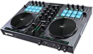 Gemini GV Series G2V Professional Audio 2-Channel MIDI Mappable Virtual DJ Controller with Touch Sensitive Jog