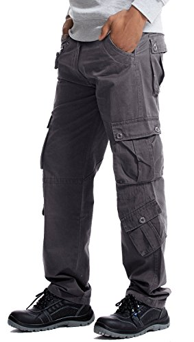 Lightweight Cotton Cargo Capri Pant - 9