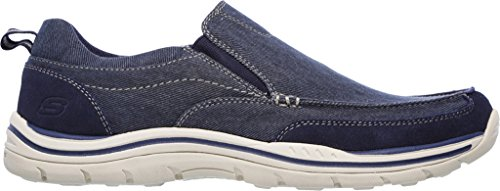 Skechers Tomen Expected Marine Homme Mocassins TT0Aw7