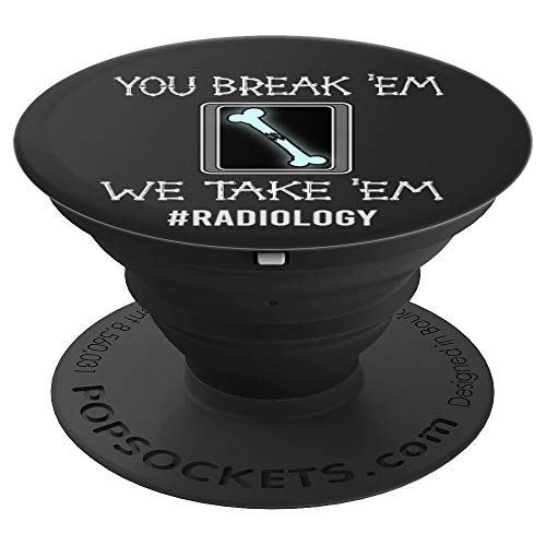 Funny Radiology Technician XRay RT Rad Tech Gift Idea - PopSockets Grip and Stand for Phones and - X-ray Funny
