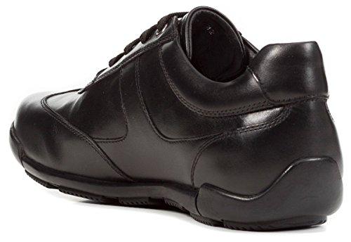 Geox Gars Ville et Décontractée Schwarz EDGWARE de Mode Faible Chaussure d'affaires U843BC Homme Chaussure Baskets Sneaker Sportive Chaussure Basse SYROwxrqYn