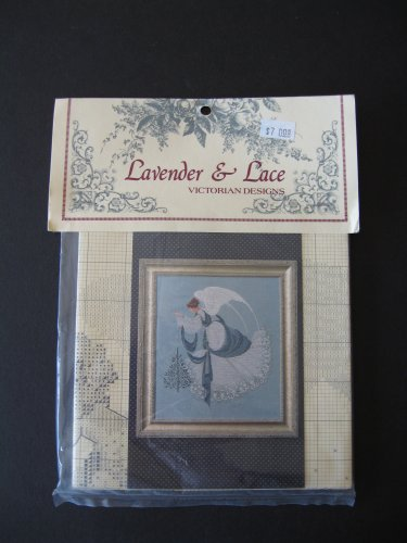 Lavender and Lace Ice Angel Cross Stitch Pattern Victorian Designs