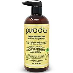 PURA D'OR Original Gold Label Anti-Thinn...