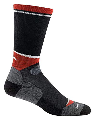 Darn Tough Lars Nordic Light Socks - Men's Black Medium