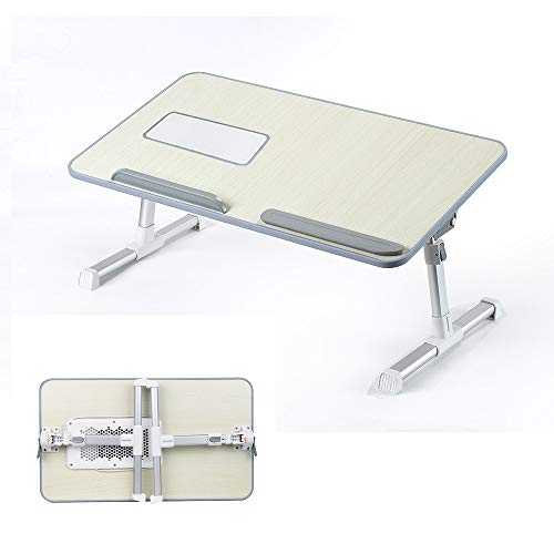 Price comparison product image Wabaodan Portable Folding Lap Desk,  Laptop Desk,  Breakfast Table,  Bed Table,  Serving Tray Extra Storage Space and dividers,  Folds Very Easy, Great for Kids,  Adults,  Boys,  GirlsShip From USA