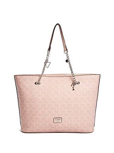 GUESS Factory Women's Larson Embossed Logo Top Chain Handle Tote by GUESS Factory