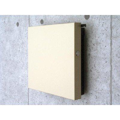 郵便ポスト 郵便受け 鍵付き ジーク デザインポスト 高級 ドイツポスト ブラック  ブラック B00PAC2RW2
