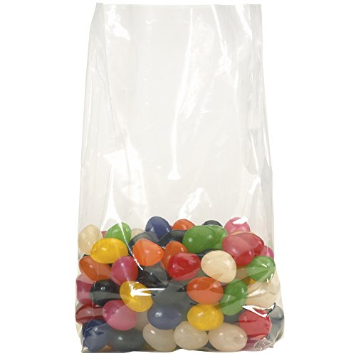 2 Mil Gusseted Poly Bags - Aviditi PB1530 Polypropylene Gusseted Bag, 4