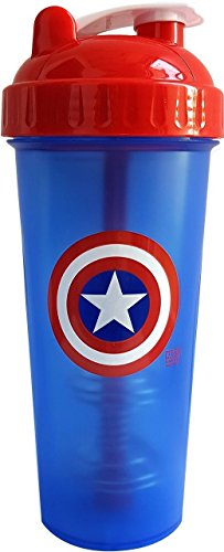 Perfect Shaker CAPTAIN AMERICA Blender Cup Bottle 28 oz SUPER HERO MIXER ;JM#54574-4565467/341163173