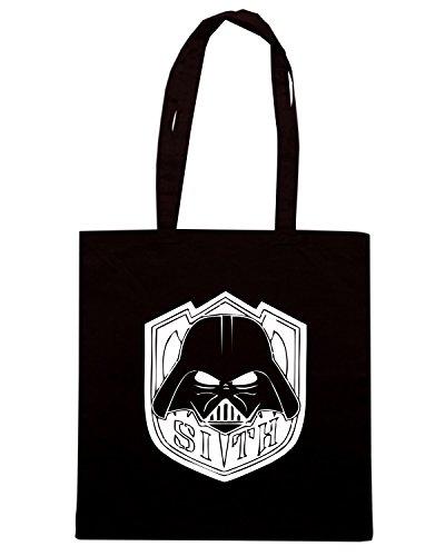 T-Shirtshock - Bolsa para la compra TR0121 Sith Vadermaske T-Shirt Negro