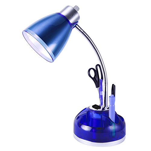 Desk And Table Lamp With Power Outlet And Usb In Base