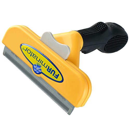 "DeShedding Brush Long Hair for Large Dogs 51-90 Lbs 4"" Inch Edge Blade FURminator Tool Comb"
