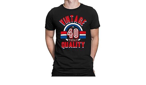 buzz shirts 40 Cumpleaños Regalo - Calidad Vintage 40 Hoy ...