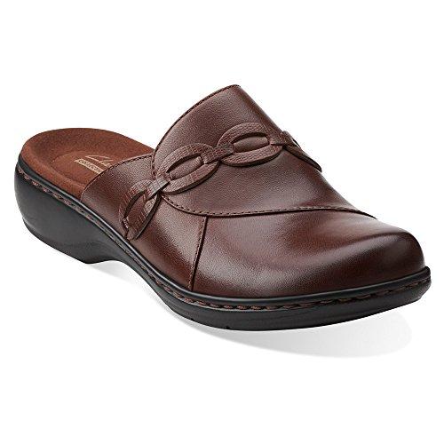 Clarks Leisa Marie Kvinna Skodon Brunt Läder