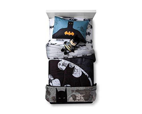 Franco DC Comics Batman Twin Comforter and Sheet Set with Blanket