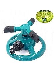 Tuinsproeier Automatische gazonwatersproeier 360 graden 3-arm roterend sproeisysteem voor het besproeien van uw gazonplanten Bloemen Groenten