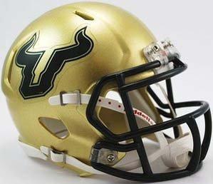 (NCAA South Florida Bulls Speed Mini Helmet)