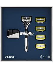 Gillette Fusion5 Proshield Herenscheerapparaat, 1 Handvat, 5 Navulmessen, Gelimiteerde Oplage, Cadeau-Idee Voor Mannen Met Kerstmis 2020