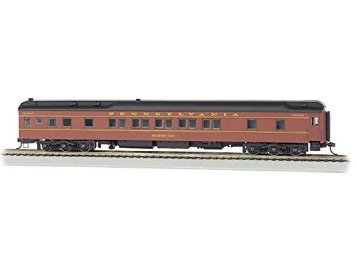 Bachmann Industries Prr Edisonville Ho Scale 80' Pullman Car with Led Lighting