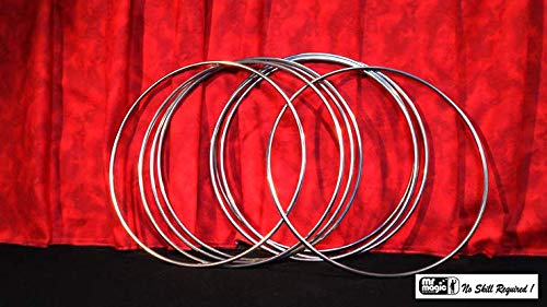 12'' Linking Rings SS (8 Rings) by Mr. Magic - Trick