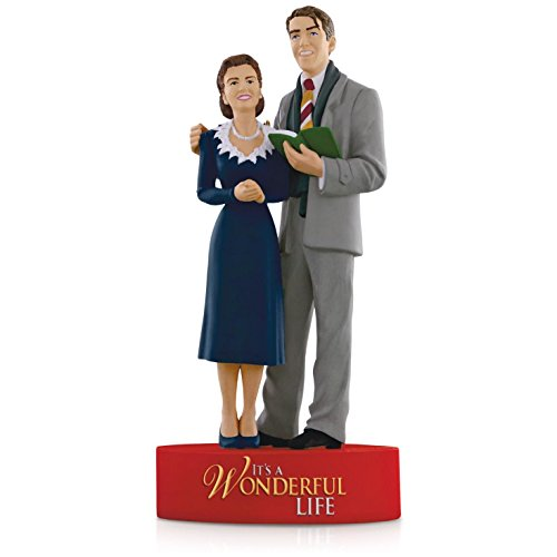 It's A Wonderful Life Movie Ornament 2015 Hallmark