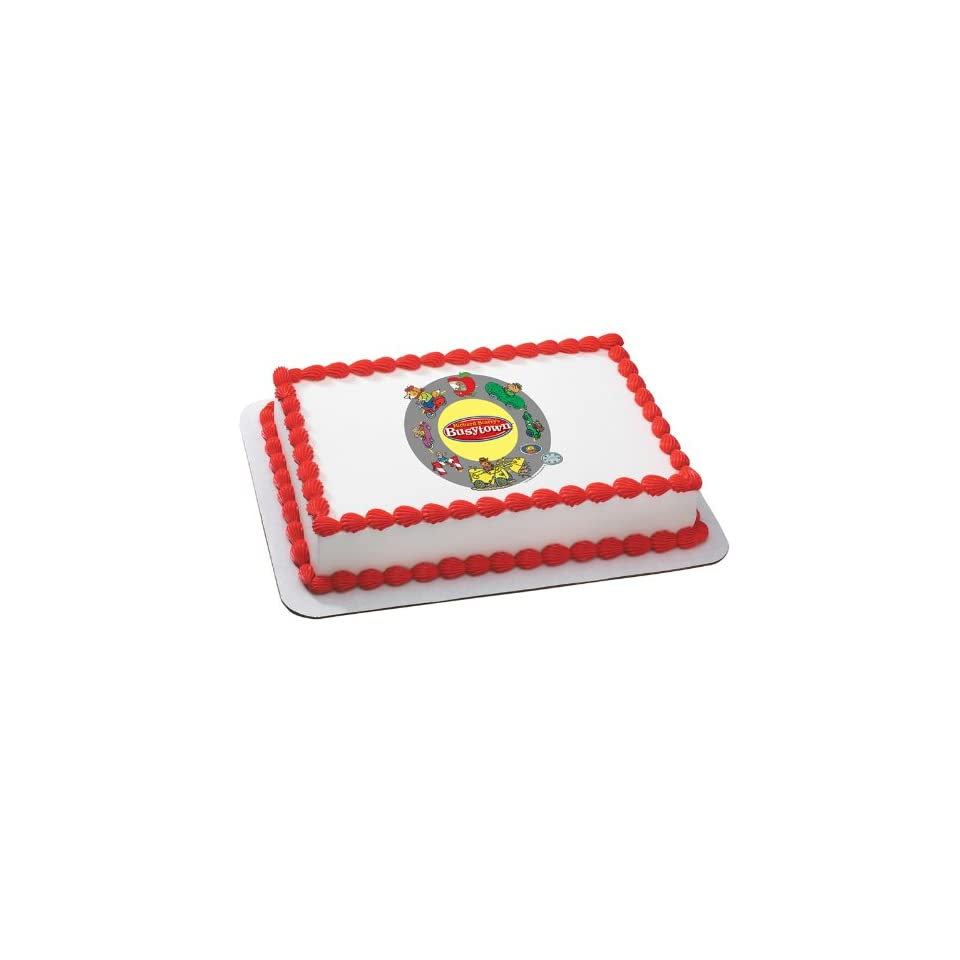 Lets Party By Deco Pac Richard Scarrys Busytown Edible Icing Cake Topper