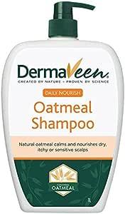 DermaVeen Daily Nourish Oatmeal Shampoo, 1L