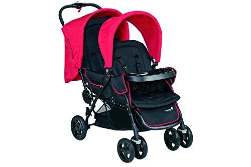 Safety 1st 11488850 Duodeal Geschwisterwagen, plain red