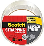 """Scotch Reinforced Strength Shipping Strapping Tape, 1.88""""x 30 yd, 1 Roll/Pack (895"""